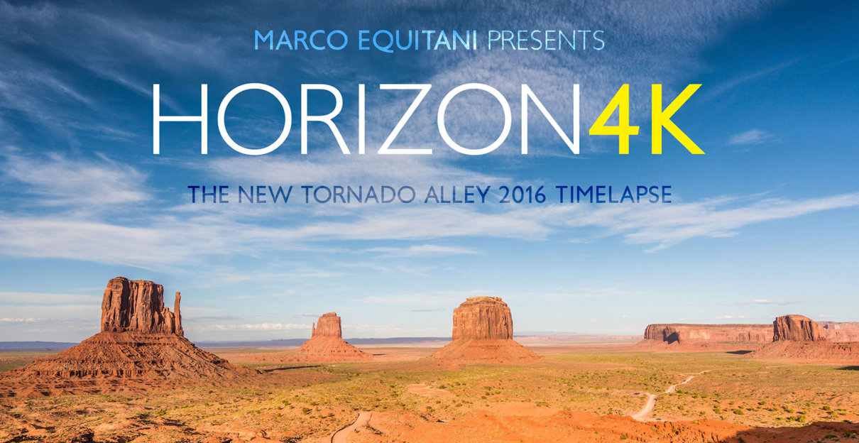 Horizon 4K : a Tornado Alley timelapse