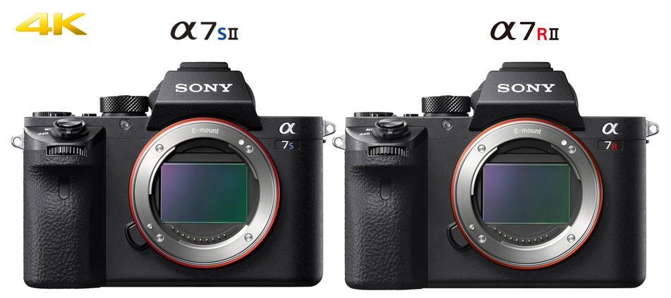 Doppietta Sony : α7SII e α7RII